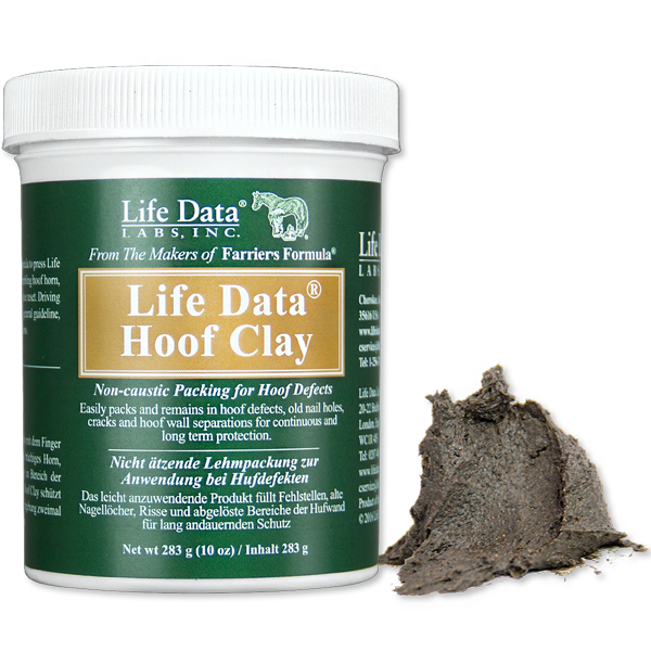 Life Data® Hoof Clay for hoof defects